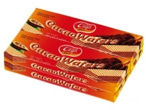 Gastone lago elledì wafers multipack gr 200 • cacao • nocciola