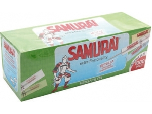 Samurai  scatola stuzzicadenti  pz 1000
