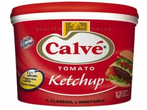 Calvè  tomato ketchup kg 5,5