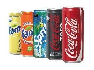 • coca cola - classica - zero • fanta - classica - lemon • sprite cl 33