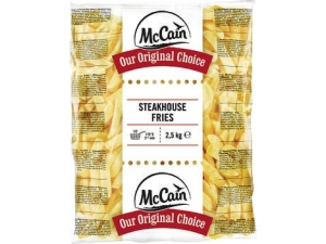Mc cain patate steakhouse frites 9/18 mm kg 2,5