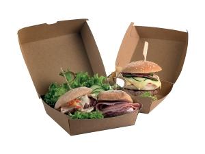Street food scatola hamburger pz 50