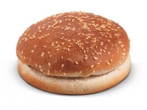 Panino hamburger   jumbo bum gr 70