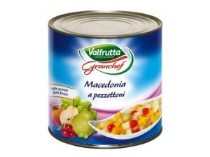 Valfrutta granchef macedonia a pezzettoni kg 3