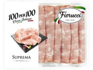 Fiorucci 100per100 mortadella suprema  gr 100