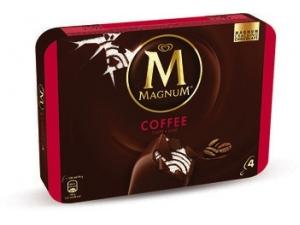 Algida magnum 4 gelati • caffè gr 316  • white gr 316  • classic gr 316    • pistacchio gr 300 • yogurt gr 344  • nocciola gr 292