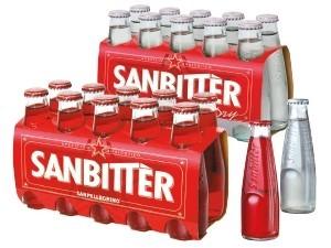 Sanbitter aperitivo • dry • red cl 10 x 10