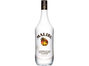 Malibù  caribbean rum  with coconut flavour cl 70