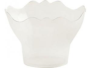 Poloplast 50 coppe pre.go in plastica trasparente cc 150