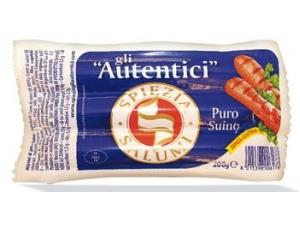 Spiezia gli autentici wurstel di puro suino gr 200