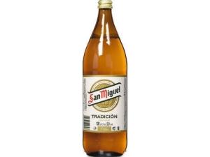 San miguel birra cerveza lt 1