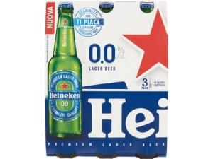 HEINEKEN  birra analcolica cl 33 x 3
