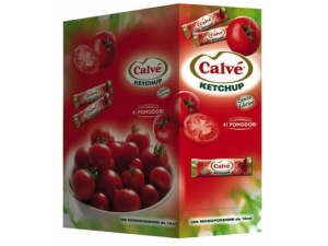 Calvè  ketchup bustina  monodose pz 200 ml 15