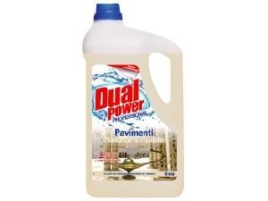 Dual power  detergente pavimenti kg 5 • fiori mediterranei • profumi d'arabia