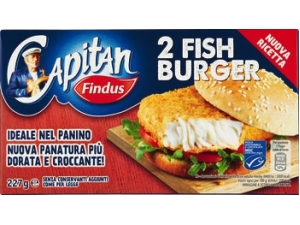 Findus  fish burger  gr 227 • classico • hot • fish & chips