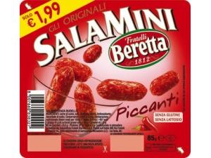 Beretta  salamini gli originali • classici • piccanti • affumicati gr 85