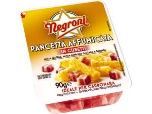 Negroni pancetta a cubetti • dolce • affumicata gr 90