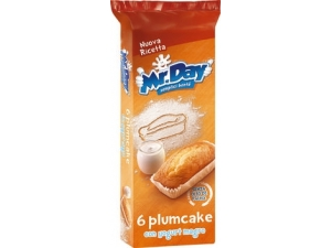 Mr. day  6 plum cake con yogurt magro gr 190