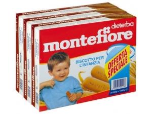 Montefiore biscotto   per l'infanzia gr 360 x 3