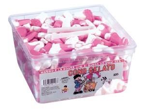Haribo  caramelle   vari tipi in contenitore  pz 200