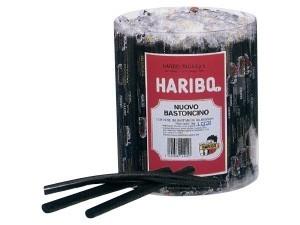 Haribo bastoncino  alla liquirizia incartato pz 150