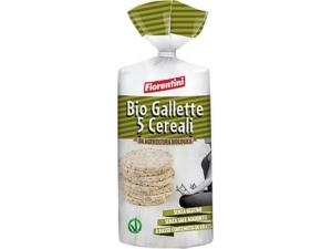 Fiorentini bio gallette • farro gr 120 • 5 cereali gr 100