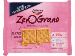 Galbusera zero grano crackers con mais e riso senza glutine gr 380