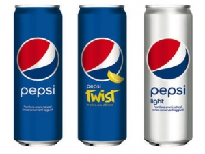 Pepsi • classica • light • twist lattina cl 33