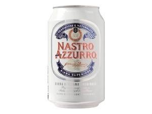 Nastro azzurro  birra in lattina cl 33