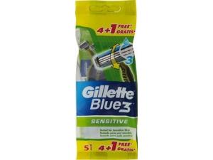 Gillette blue 3  rasoio radi e getta • classico pz 4+2 gratis  • sensitive pz 4+1 gratis