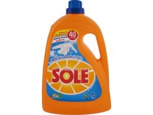 Sole detersivo liquido per lavatrice 40 lavaggi vari tipi