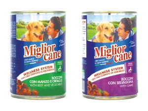 Miglior cane  bocconi vari gusti  in lattina gr 400