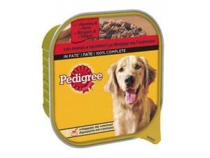 Pedigree  patè per cane  vari tipi vaschetta gr 300