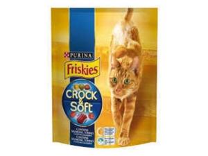 Friskies crock & soft per gatto vari gusti - gr 375