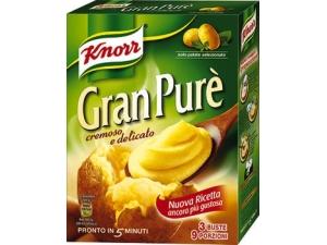 Knorr  gran purè  3 buste gr 225