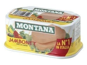 Montana  jambonet  patè di carne  gr 200