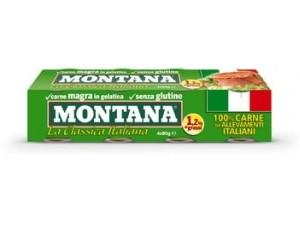 Montana  carne in scatola gr 90x4