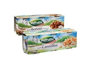 Valfrutta fagioli - gr 400 x 3  • borlotti • cannellini