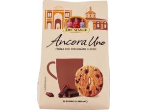 Tre marie  • frollino con pezzi di cioccolato gr 350 • frollino al cacao con gocce gr 300 • frolla antica cacao gr 300