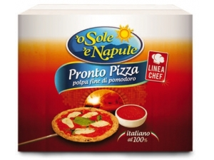 O' sole 'e napule pronto pizza  busta kg 5x2