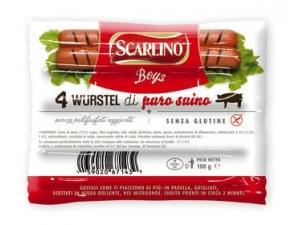 SCARLINO wurstel boys di puro suino gr 100