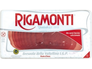 Rigamonti  bresaola della valtellina   punta d'anca igp gr 70