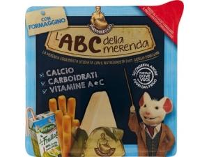Parmareggio l'ABC della merenda  con Formaggino  gr 165