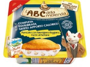 Parmareggio l'abc della merenda con plumcake gr 159