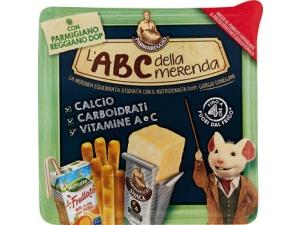 Parmareggio l'ABC della merenda con Snack Parmigiano Reggiano DOP  gr 157
