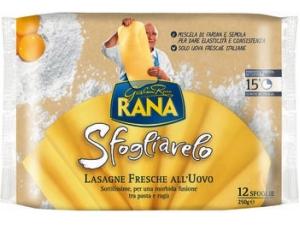 Rana sfogliavelo lasagne fresche all'uovo gr 250