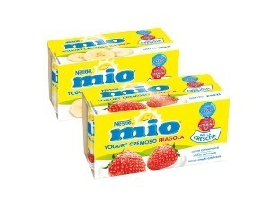 Nestlè mio  yogurt cremoso vari gusti  GR 125 x 2
