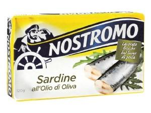 Nostromo  sardine all'olio di oliva  gr 120