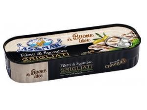 As do mar  filetti di sgombro grigliati con sale integrale • al naturale • olio extra vergine bio gr 120
