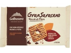 Galbusera frollini gran saraceno e gocce di cioccolato gr 260